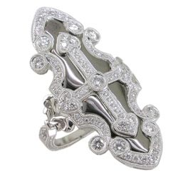 L1884 18KW Diamond Ring
