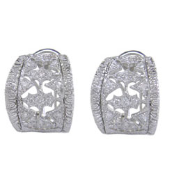 E1916 18KW Diamond Earrings