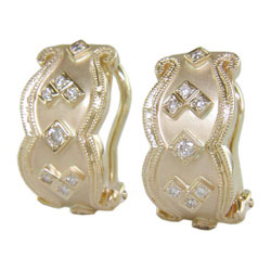 E2251 18KT Diamond Earrings
